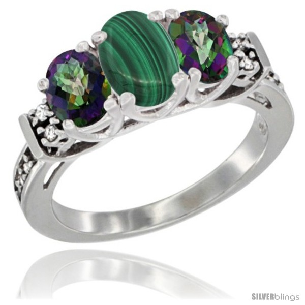 https://www.silverblings.com/78530-thickbox_default/14k-white-gold-natural-malachite-mystic-topaz-ring-3-stone-oval-diamond-accent.jpg