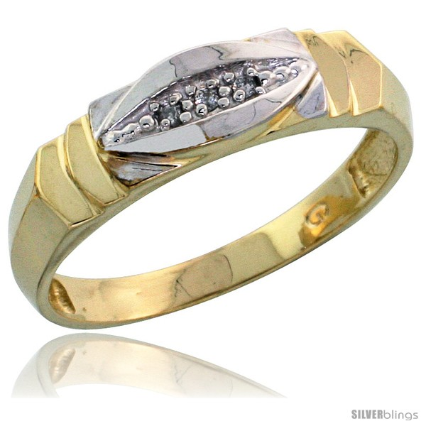 https://www.silverblings.com/78540-thickbox_default/gold-plated-sterling-silver-ladies-diamond-wedding-band-3-16-in-wide-style-agy121lb.jpg