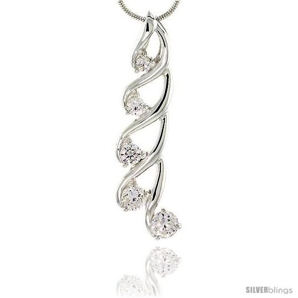https://www.silverblings.com/78679-thickbox_default/sterling-silver-swirl-design-graduated-journey-pendant-w-5-cz-stones-1-1-2-37mm-tall.jpg