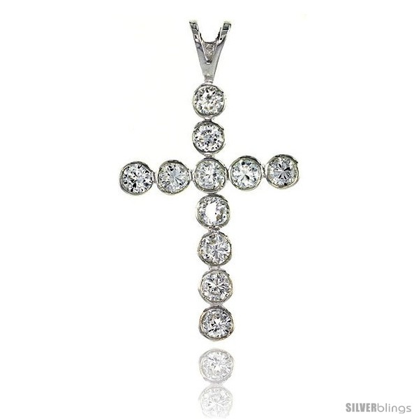https://www.silverblings.com/78779-thickbox_default/high-polished-sterling-silver-1-11-16-43-mm-tall-cross-pendant-w-eleven-4mm-brilliant-cut-cz-stones-w-18-thin-box-chain.jpg