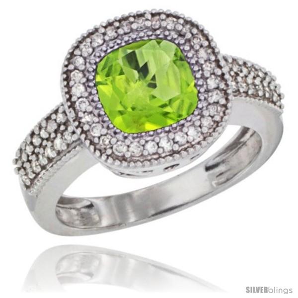 https://www.silverblings.com/78808-thickbox_default/10k-white-gold-natural-peridot-ring-cushion-cut-7x7-stone-diamond-accent.jpg
