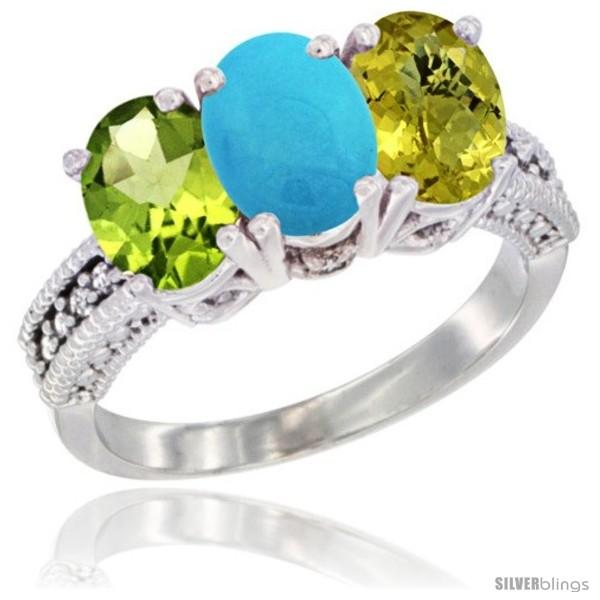 https://www.silverblings.com/78976-thickbox_default/10k-white-gold-natural-peridot-turquoise-lemon-quartz-ring-3-stone-oval-7x5-mm-diamond-accent.jpg