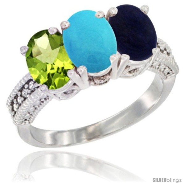 https://www.silverblings.com/78980-thickbox_default/10k-white-gold-natural-peridot-turquoise-lapis-ring-3-stone-oval-7x5-mm-diamond-accent.jpg