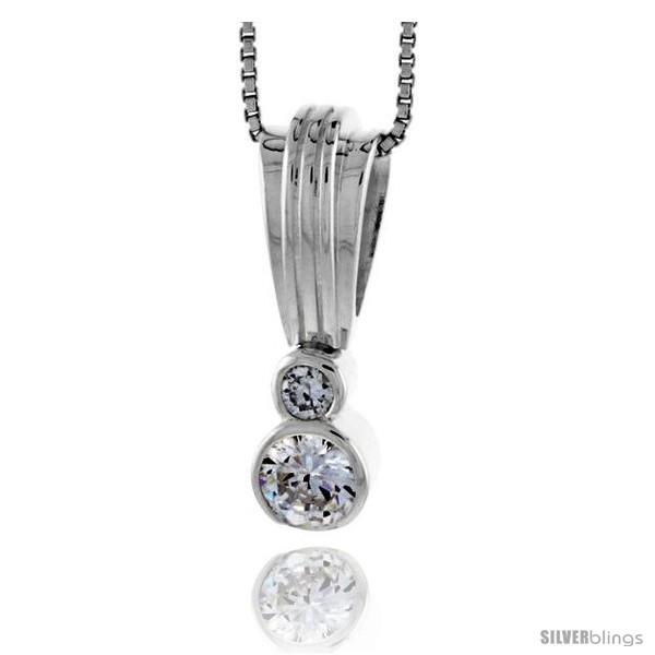 https://www.silverblings.com/79020-thickbox_default/high-polished-sterling-silver-1-25-mm-tall-pendant-enhancer-w-one-6mm-one-3mm-brilliant-cut-cz-stones-w-18-thin-box.jpg