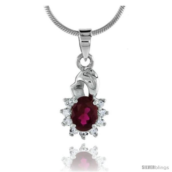 https://www.silverblings.com/79054-thickbox_default/high-polished-sterling-silver-11-16-17-mm-tall-cluster-pendant-w-7x5mm-oval-cut-garnet-colored-nine-2mm-brilliant-cut-cz.jpg