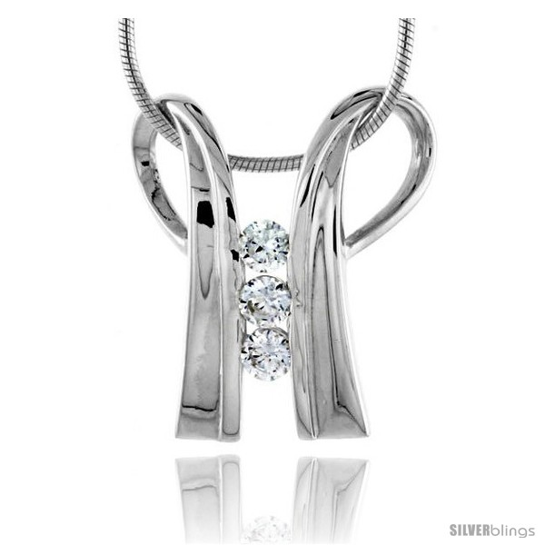 https://www.silverblings.com/79074-thickbox_default/high-polished-sterling-silver-7-8-23-mm-tall-double-loop-pendant-w-3mm-brilliant-cut-cz-stones-w-18-thin-box-chain.jpg