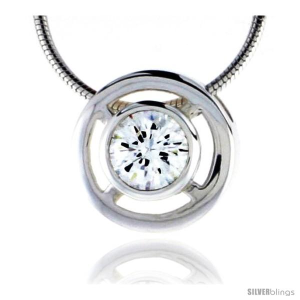 https://www.silverblings.com/79086-thickbox_default/high-polished-sterling-silver-1-2-13-mm-round-pendant-enhancer-w-7mm-brilliant-cut-cz-stone-w-18-thin-box-chain.jpg