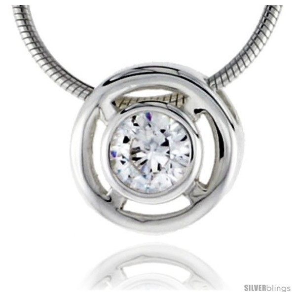 https://www.silverblings.com/79088-thickbox_default/high-polished-sterling-silver-7-16-11-mm-round-pendant-enhancer-w-6mm-brilliant-cut-cz-stone-w-18-thin-box-chain.jpg