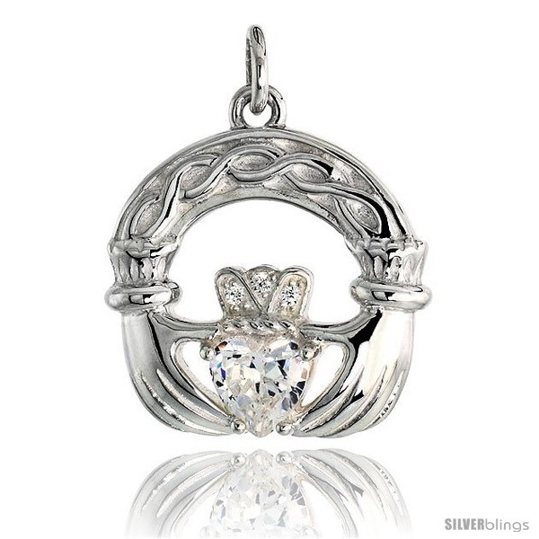 https://www.silverblings.com/79134-thickbox_default/high-polished-claddagh-pendant-in-sterling-silver-w-6mm-heart-shaped-cz-stone-13-16-21-mm-tall.jpg