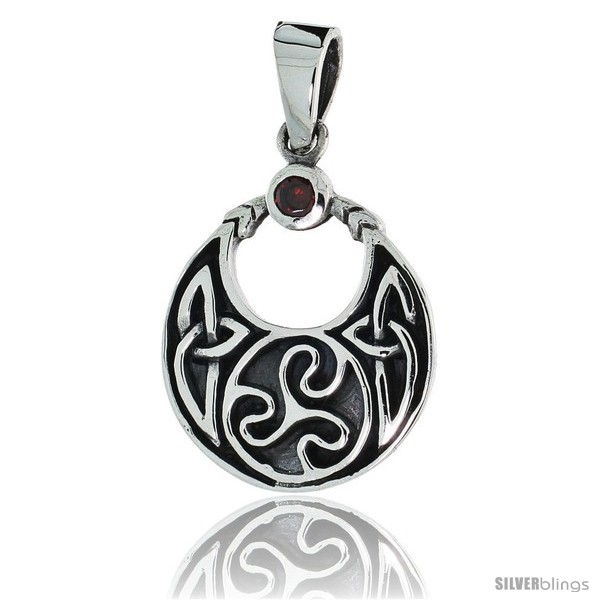 https://www.silverblings.com/79142-thickbox_default/sterling-silver-round-celtic-pendant-w-single-red-cz-w-18-thin-box-chain.jpg