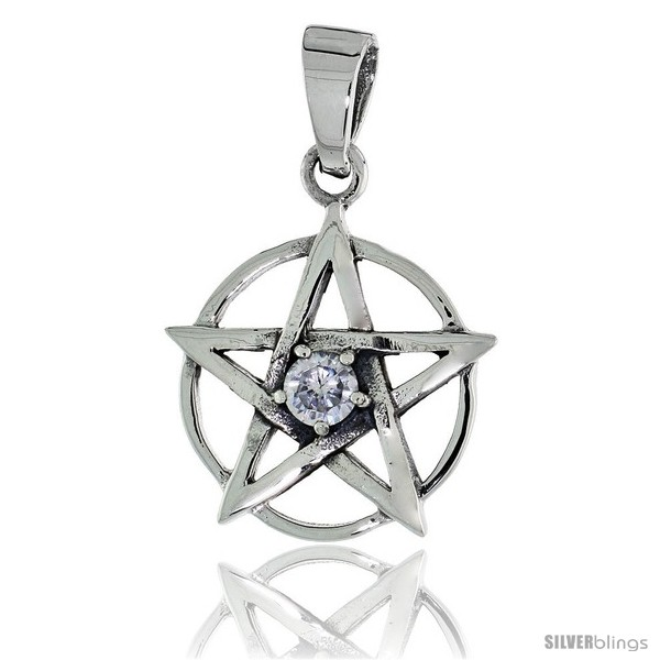 https://www.silverblings.com/79156-thickbox_default/sterling-silver-pentagram-pendant-w-single-clear-cz-w-18-thin-box-chain.jpg