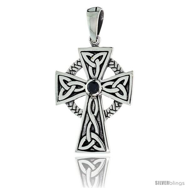 https://www.silverblings.com/79196-thickbox_default/sterling-silver-trinity-celtic-high-cross-pendant-w-single-black-cz-w-18-thin-box-chain.jpg