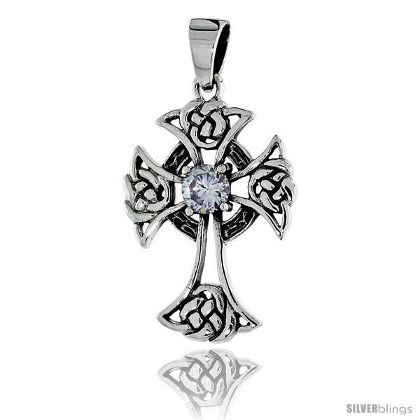 https://www.silverblings.com/79200-thickbox_default/sterling-silver-celtic-cross-pendant-w-single-clear-cz-w-18-thin-box-chain.jpg
