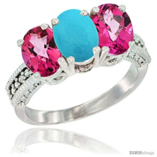 https://www.silverblings.com/79288-thickbox_default/10k-white-gold-natural-turquoise-pink-topaz-sides-ring-3-stone-oval-7x5-mm-diamond-accent.jpg