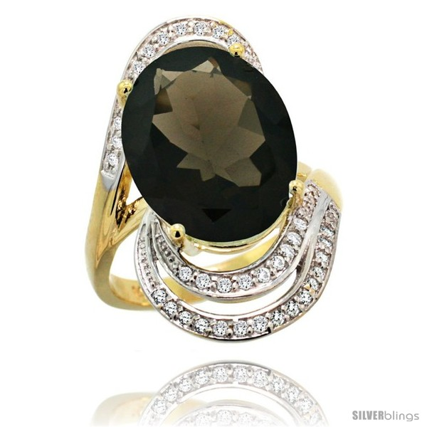 https://www.silverblings.com/79370-thickbox_default/14k-gold-natural-smoky-topaz-ring-16x12-mm-oval-shape-diamond-halo-1-in.jpg