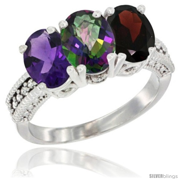 https://www.silverblings.com/79413-thickbox_default/14k-white-gold-natural-amethyst-mystic-topaz-garnet-ring-3-stone-7x5-mm-oval-diamond-accent.jpg