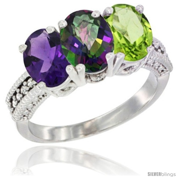 https://www.silverblings.com/79415-thickbox_default/14k-white-gold-natural-amethyst-mystic-topaz-peridot-ring-3-stone-7x5-mm-oval-diamond-accent.jpg