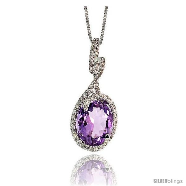 https://www.silverblings.com/79494-thickbox_default/14k-white-gold-18-chain-1-26mm-tall-swirl-pendant-w-0-26-carat-brilliant-cut-diamonds-3-71-carats-11x9mm-oval-cut.jpg