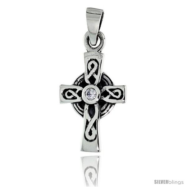 https://www.silverblings.com/79568-thickbox_default/sterling-silver-infinity-loop-celtic-cross-pendant-w-single-clear-cz-w-18-thin-box-chain.jpg