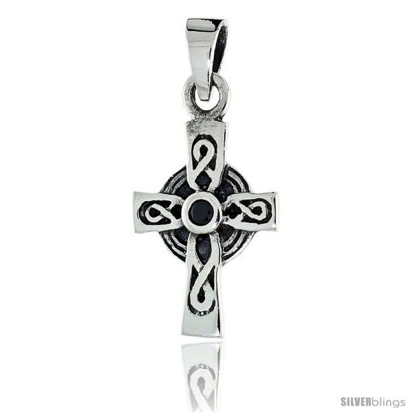 https://www.silverblings.com/79570-thickbox_default/sterling-silver-infinity-loop-celtic-cross-pendant-w-single-black-cz-w-18-thin-box-chain.jpg