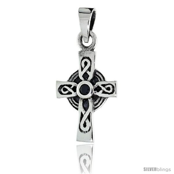https://www.silverblings.com/79570-thickbox_default/sterling-silver-infinity-loop-celtic-cross-pendant-w-single-black-cz-w-18-thin-box-chain.jpg