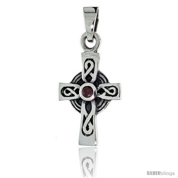 https://www.silverblings.com/79572-thickbox_default/sterling-silver-infinity-loop-celtic-cross-pendant-w-single-red-cz-w-18-thin-box-chain.jpg