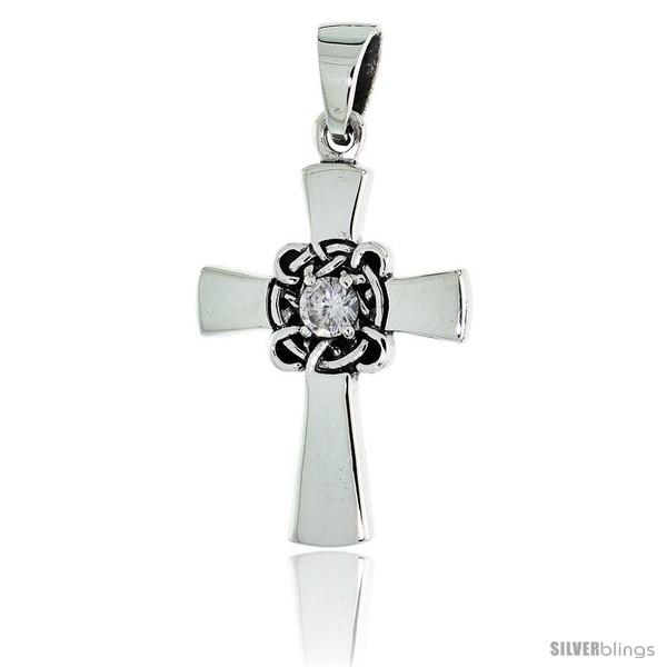 https://www.silverblings.com/79586-thickbox_default/sterling-silver-celtic-center-cross-pendant-w-single-clear-cz-w-18-thin-box-chain.jpg