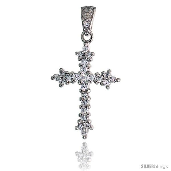 https://www.silverblings.com/79648-thickbox_default/sterling-silver-cross-fleury-pendant-w-pave-cz-stones-1-5-16-33-mm-tall.jpg