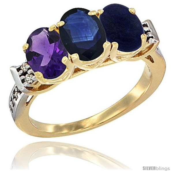 https://www.silverblings.com/79781-thickbox_default/10k-yellow-gold-natural-amethyst-blue-sapphire-lapis-ring-3-stone-oval-7x5-mm-diamond-accent.jpg