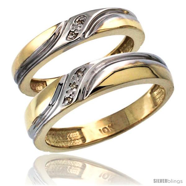 https://www.silverblings.com/8037-thickbox_default/14k-gold-2-pc-his-5mm-hers-4mm-diamond-wedding-ring-band-set-w-0-032-carat-brilliant-cut-diamonds.jpg