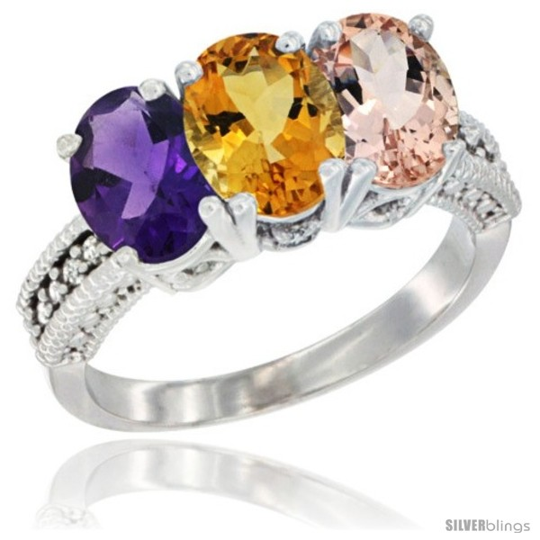 https://www.silverblings.com/80662-thickbox_default/14k-white-gold-natural-amethyst-citrine-morganite-ring-3-stone-7x5-mm-oval-diamond-accent.jpg