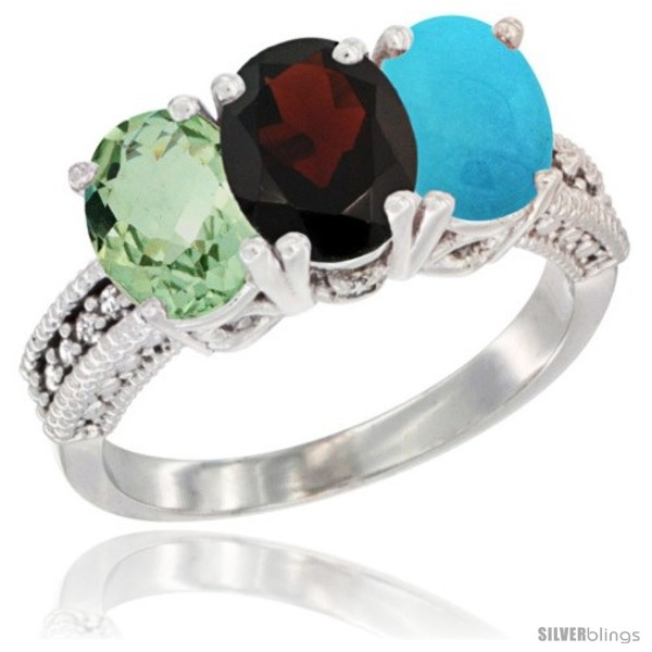 https://www.silverblings.com/8101-thickbox_default/14k-white-gold-natural-green-amethyst-garnet-turquoise-ring-3-stone-7x5-mm-oval-diamond-accent.jpg