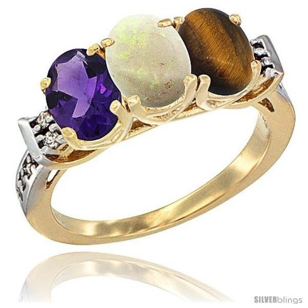 https://www.silverblings.com/81272-thickbox_default/10k-yellow-gold-natural-amethyst-opal-tiger-eye-ring-3-stone-oval-7x5-mm-diamond-accent.jpg