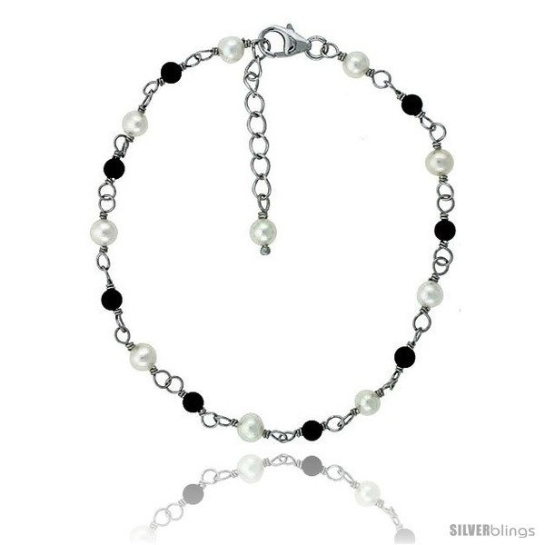 https://www.silverblings.com/81478-thickbox_default/sterling-silver-pearl-bracelet-freshwater-w-onyx-beads-rhodium-finish-7-in--1-in-extension-style-plb124.jpg