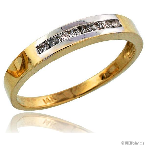 https://www.silverblings.com/8169-thickbox_default/14k-gold-mens-diamond-band-w-rhodium-accent-w-0-14-carat-brilliant-cut-diamonds-1-8-in-3mm-wide.jpg