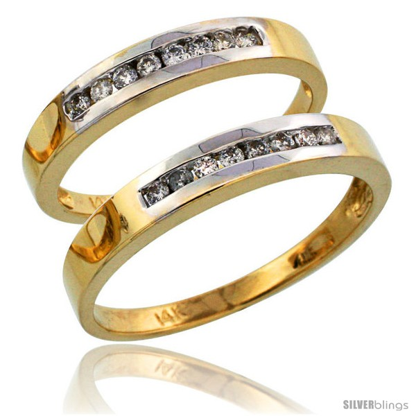https://www.silverblings.com/8181-thickbox_default/14k-gold-2-piece-his-3mm-hers-3mm-diamond-wedding-band-set-w-rhodium-accent-w-0-28-carat-brilliant-cut-diamonds.jpg