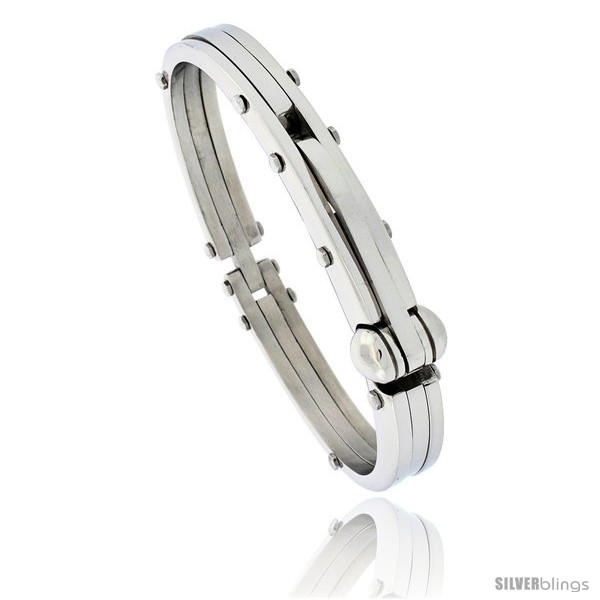 https://www.silverblings.com/820-thickbox_default/gents-stainless-steel-bangle-bracelet-1-2-in-wide-8-1-2-in-long-style-bss157.jpg