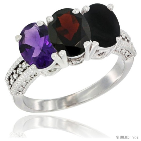 https://www.silverblings.com/82115-thickbox_default/14k-white-gold-natural-amethyst-garnet-black-onyx-ring-3-stone-7x5-mm-oval-diamond-accent.jpg