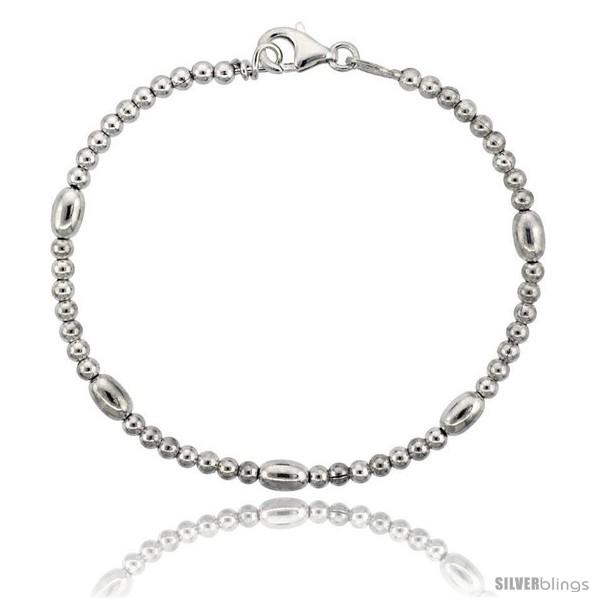 https://www.silverblings.com/82705-thickbox_default/sterling-silver-polished-bead-bracelet-5-32-in-4-mm-wide.jpg