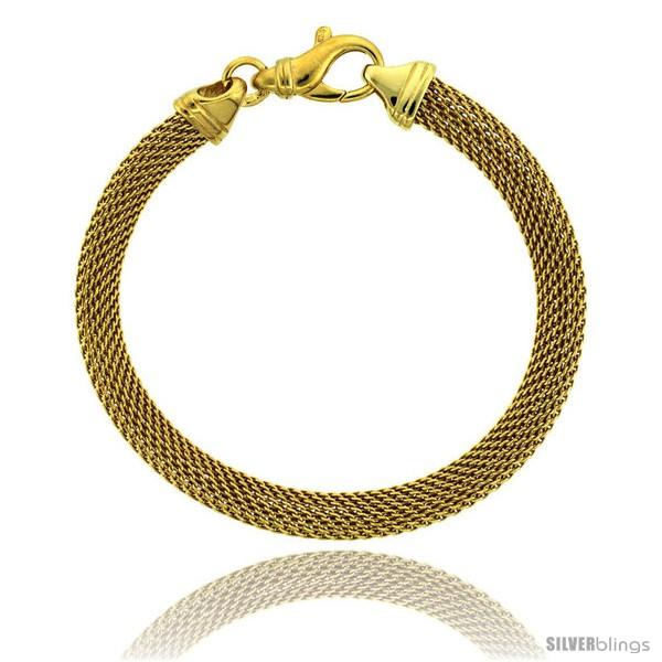 https://www.silverblings.com/82717-thickbox_default/sterling-silver-7-in-mesh-bracelet-w-yellow-gold-finish-1-4-in-6-5-mm-wide.jpg