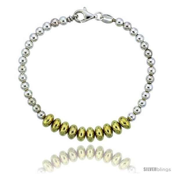 https://www.silverblings.com/82759-thickbox_default/sterling-silver-saucer-bead-bracelet-w-gold-finish-1-4-in-7-mm-wide.jpg