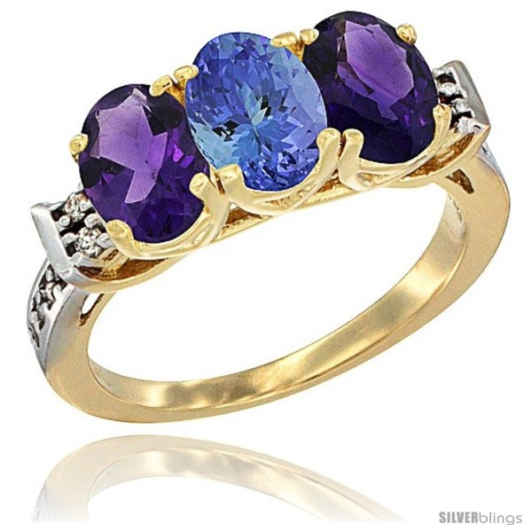 https://www.silverblings.com/83143-thickbox_default/10k-yellow-gold-natural-tanzanite-amethyst-sides-ring-3-stone-oval-7x5-mm-diamond-accent.jpg