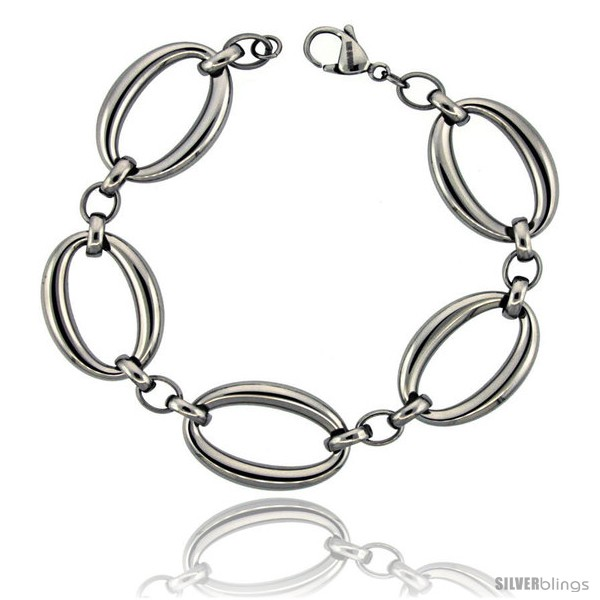 https://www.silverblings.com/832-thickbox_default/stainless-steel-large-oval-links-bracelet-3-4-in-wide-8-5-in-long.jpg