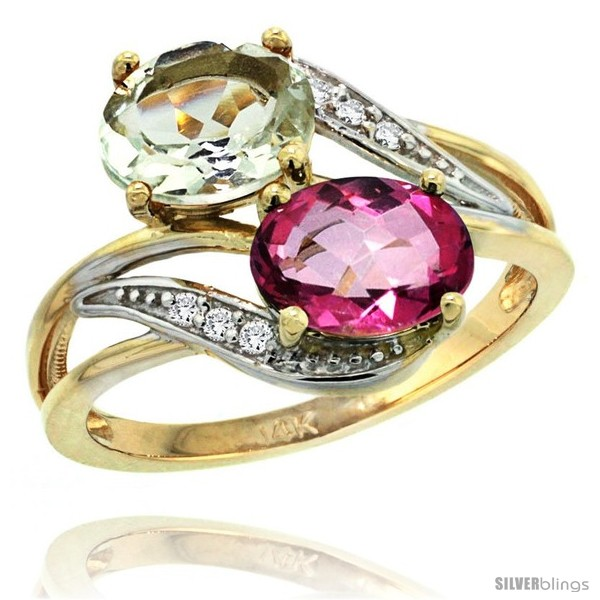 https://www.silverblings.com/83428-thickbox_default/14k-gold-8x6-mm-double-stone-engagement-green-amethyst-pink-topaz-ring-w-0-07-carat-brilliant-cut-diamonds-2-34-carats.jpg