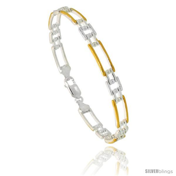 https://www.silverblings.com/84087-thickbox_default/sterling-silver-cut-out-bar-link-beaded-bracelet-w-gold-finish-1-4-in-6-mm-wide.jpg