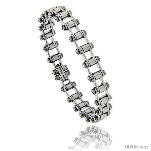 https://www.silverblings.com/844-thickbox_default/stainless-steel-bicycle-chain-bracelet-3-8-in-wide-7-25-in.jpg