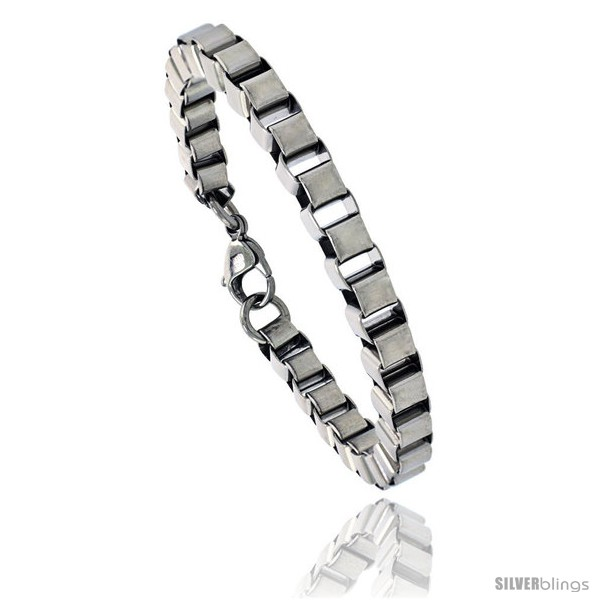 https://www.silverblings.com/852-thickbox_default/stainless-steel-box-chain-link-bracelet-1-4-in-wide-7-in.jpg