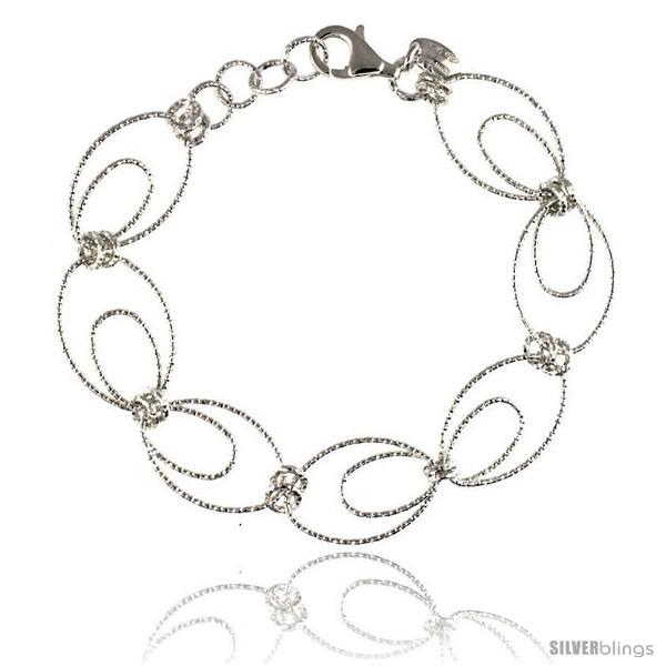 https://www.silverblings.com/85302-thickbox_default/sterling-silver-wire-oval-hoop-diamond-cut-7-5-in-bracelet-w-white-gold-finish-9-16-in-14-mm-wide.jpg