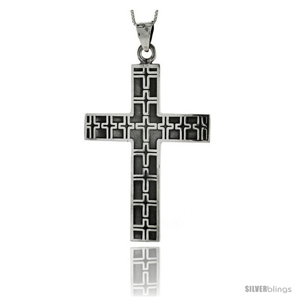 https://www.silverblings.com/85632-thickbox_default/sterling-silver-large-cross-pendant-w-embossed-crosses-handmade-2-1-2-in.jpg