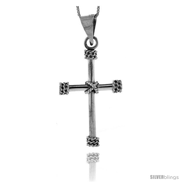 https://www.silverblings.com/85636-thickbox_default/sterling-silver-wire-wrapped-tube-cross-pendant-handmade-1-5-8-in-style-px148.jpg